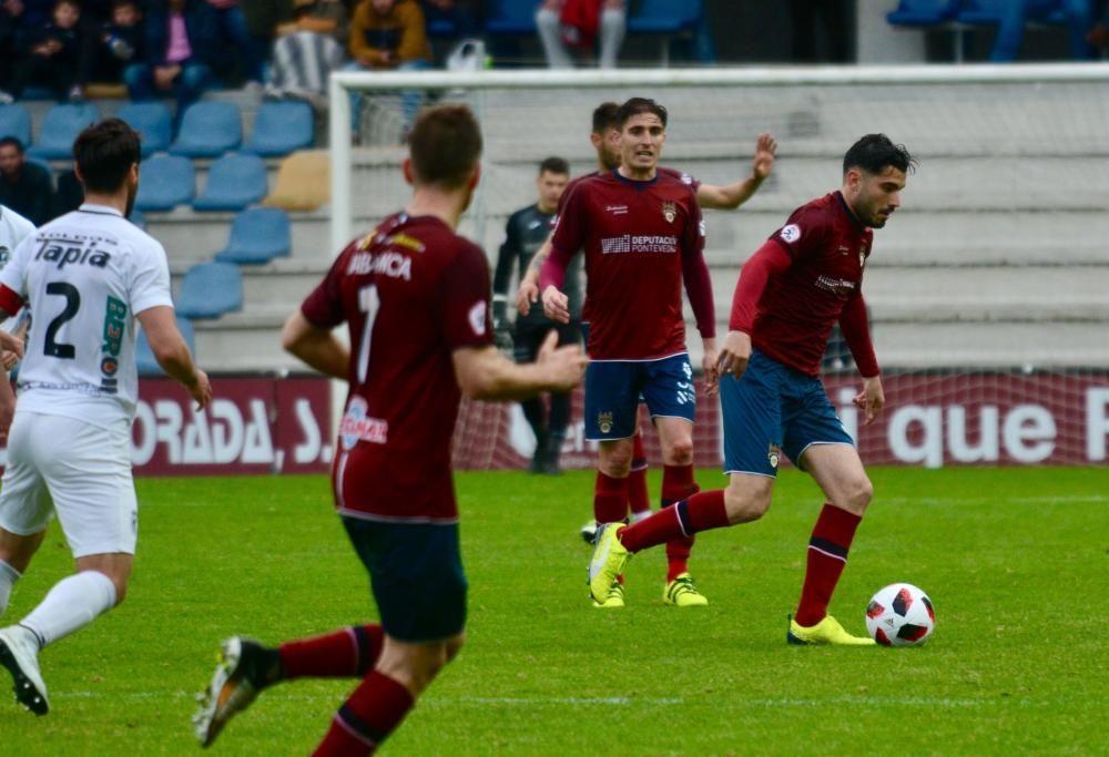 El Pontevedra sufre un frenazo en pleno vuelo