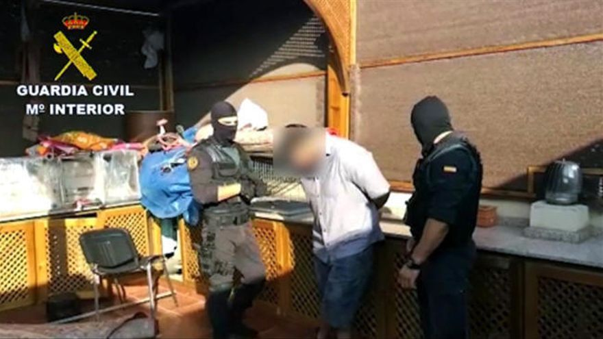 Un detenido en Melilla vinculado a una red yihadista