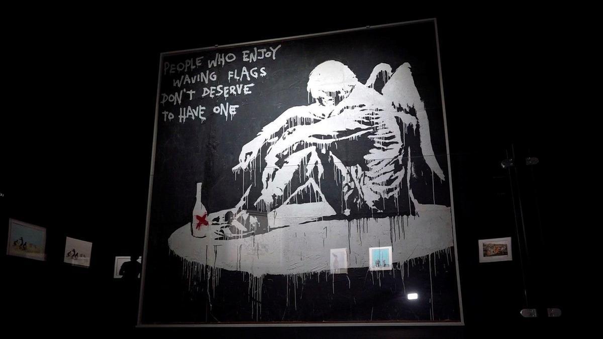 La exposición 'Banksy, ¿genio o vándalo?' ya se puede ver en Bruselas