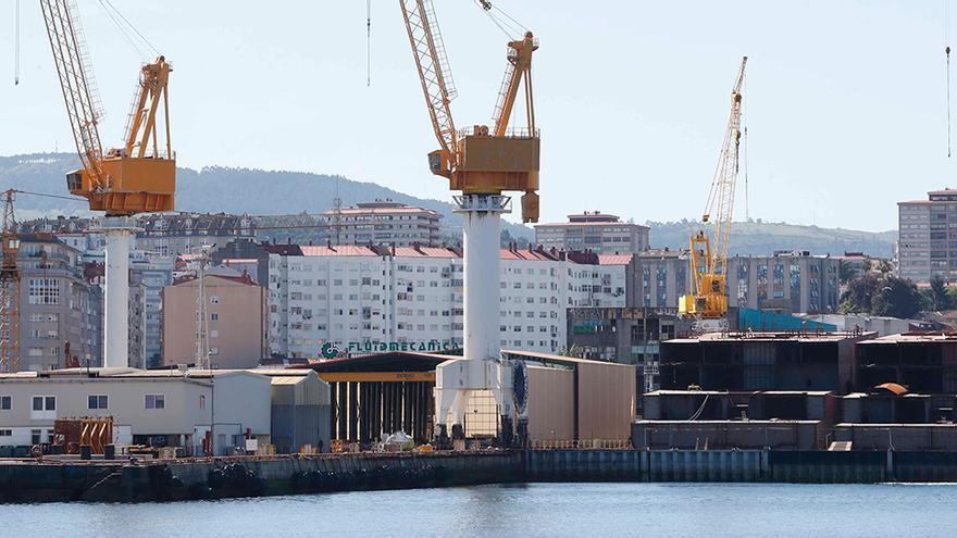 La crisis de pedidos y de Barreras llevan al naval a su peor dato histórico de ocupación
