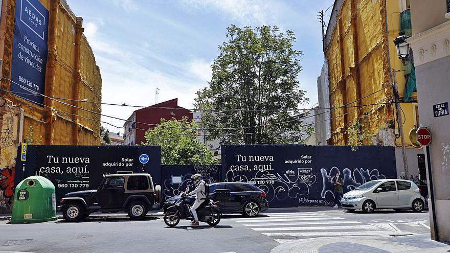 Las grandes promotoras de viviendas entran en el centro de València
