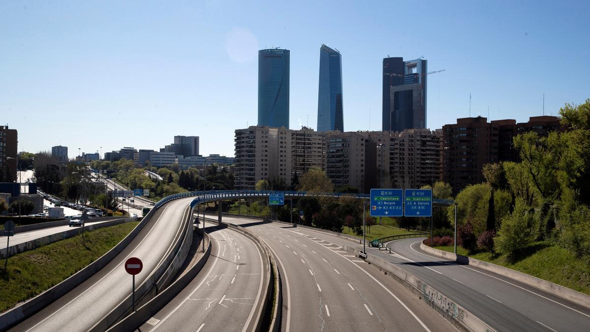 Una imagen de la ciudad de Madrid.