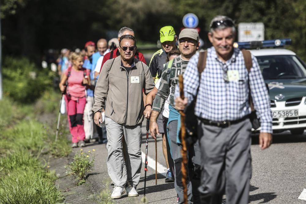 Ruta de las Santas Reliquias, entre Oviedo y el Monsacro