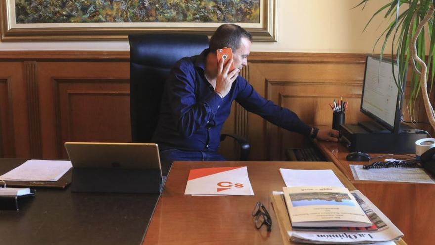 """Requejo asegura que el proyecto de la biorrefinería de Barcial """"avanza en los plazos establecidos"""""""