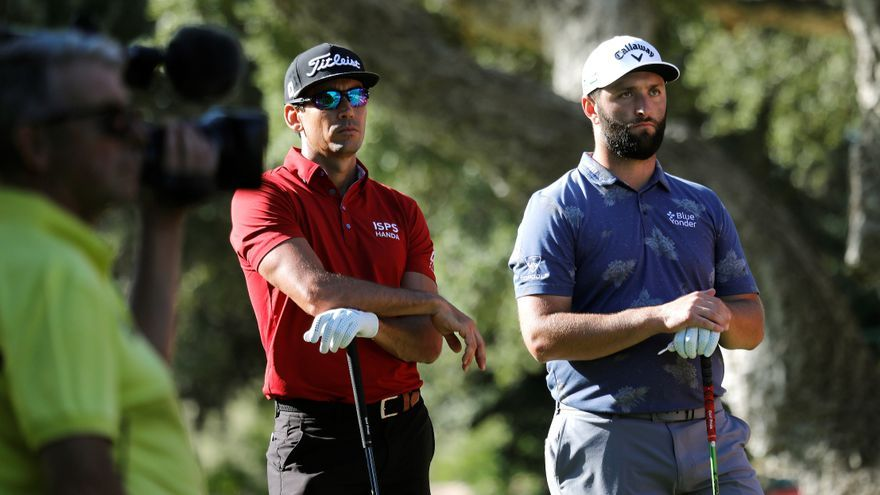 """Jon Rahm: """"No quiero ver ni un palo de golf"""""""