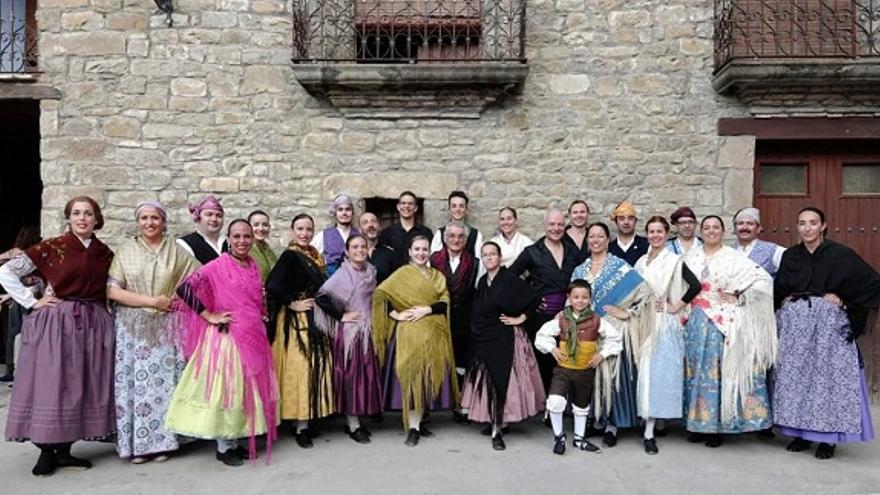 Grupo folklórico San Lorenzo