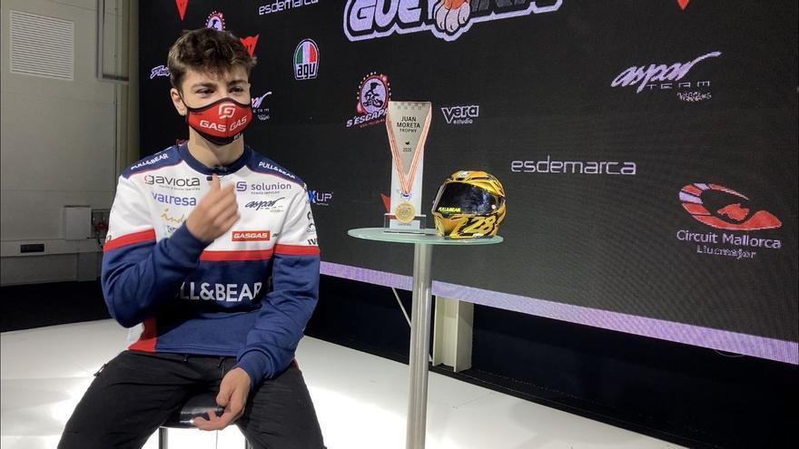 Izan Guevara, preparado para el reto de Moto3