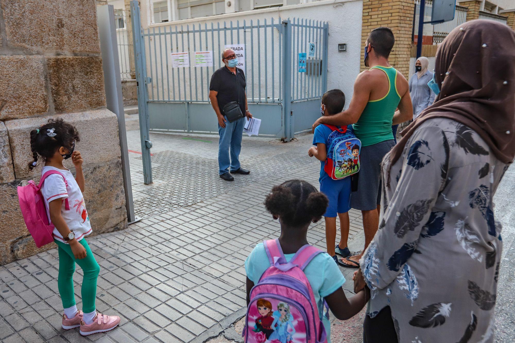 Inicio del curso escolar en los centros educativos de la Vega Baja
