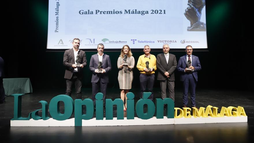 Gala de entrega de los Premios Málaga 2021 de La Opinión