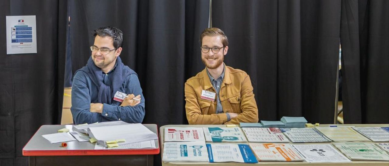 Las elecciones europeas, en imágenes