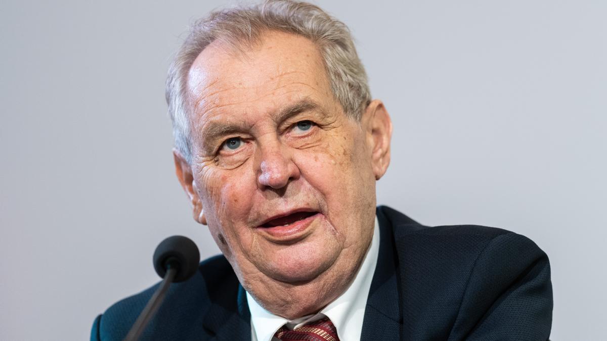 Presidente de República Checa, Milos Zeman