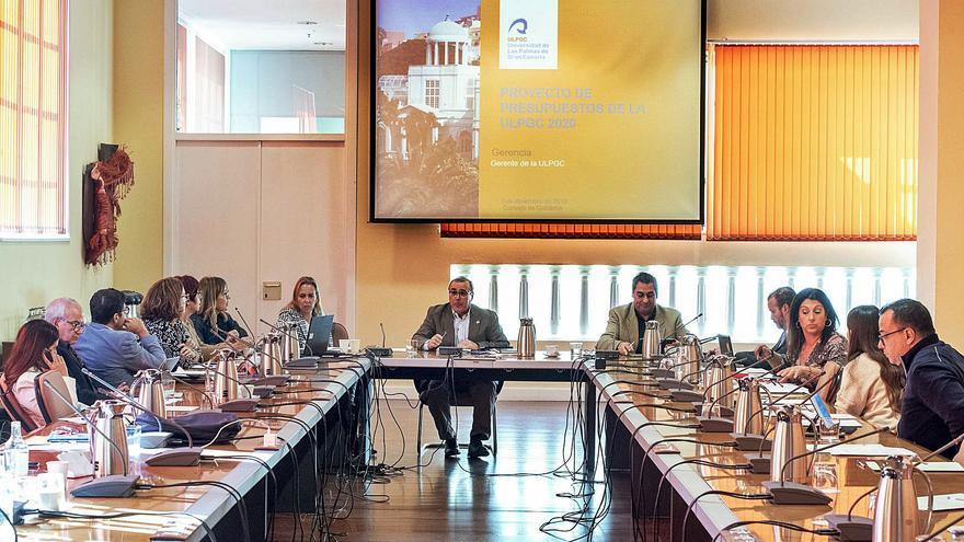 El Consejo Social de la ULPGC aprueba un  presupuesto con 3,5 millones menos