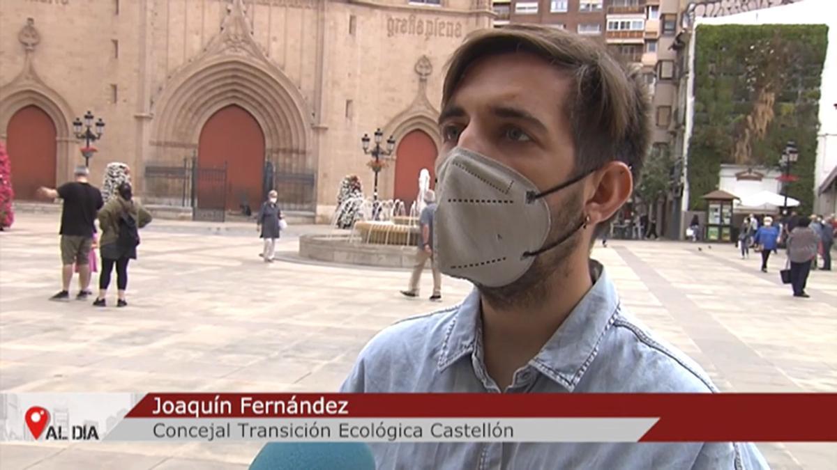 El lapsus de la televisión con el concejal de Transición Ecológica, Fernando Navarro.