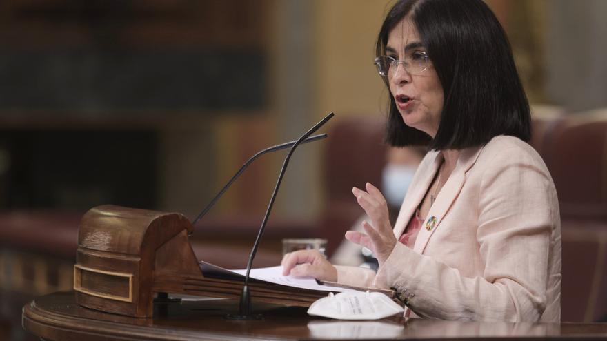 El Gobierno salva en el Congreso el fin del uso de mascarillas en exteriores