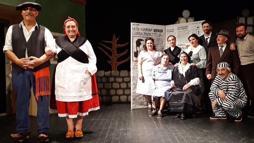 """La Compañía de Comedias, """"Asturiana del mes"""" por preservar el teatro costumbrista"""