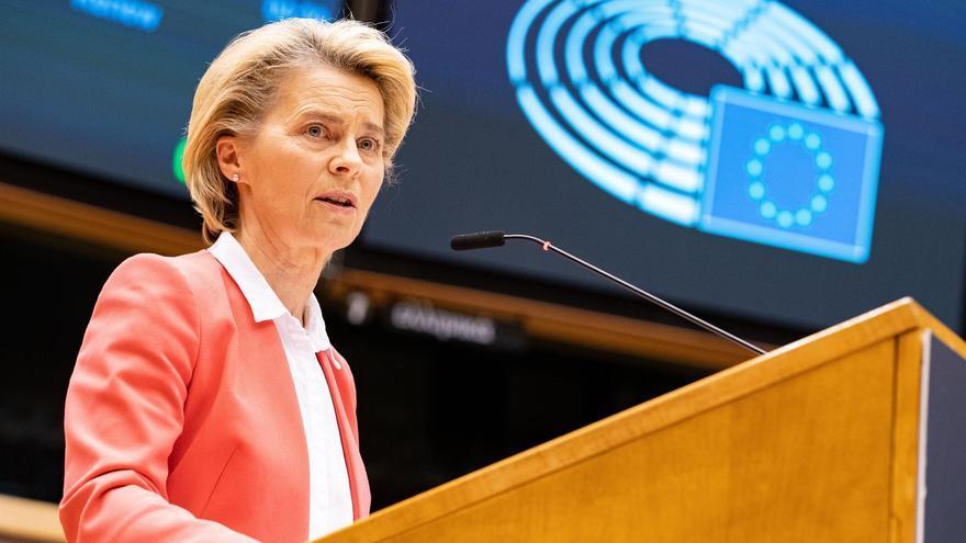 Von der Leyen pide a la Eurocámara aprobar el acuerdo post Brexit