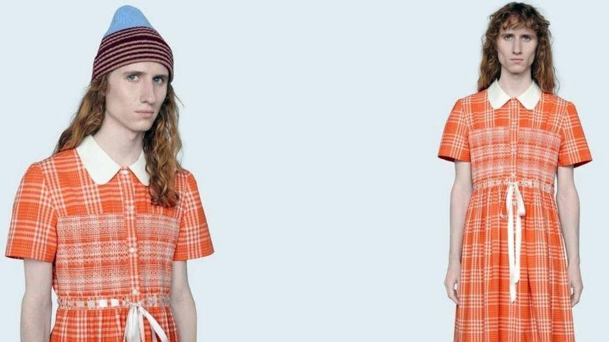 El vestido de Gucci para hombres que cuesta 1.900 euros