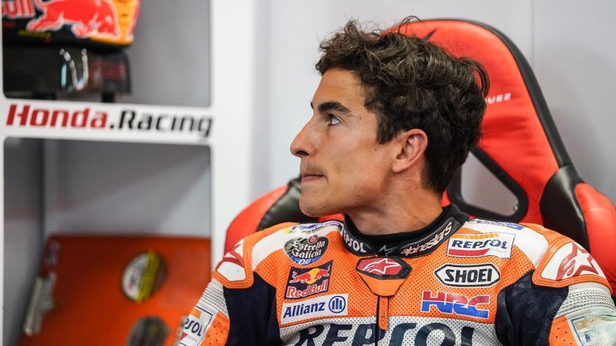 Recado de Márquez a Honda tras otra caída como la de Jerez