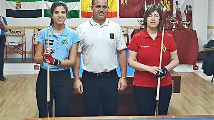 Eva Hermida, del CB Manresa, acaba cinquena l'estatal a tres bandes celebrat a  Gandia