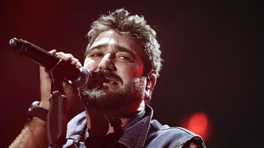 Antonio Orozco actuará en Vigo, Ourense, Santiago y A Coruña
