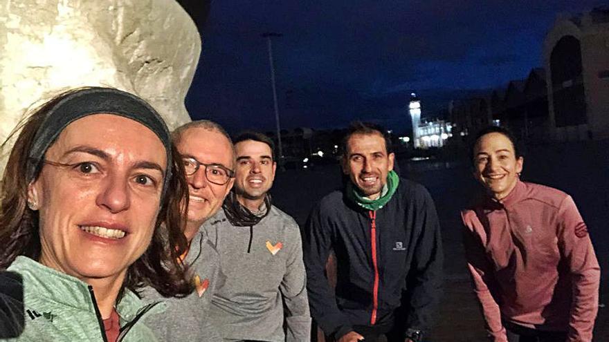 Elena Tejedor se suma al  reto del maratón virtual 4.0