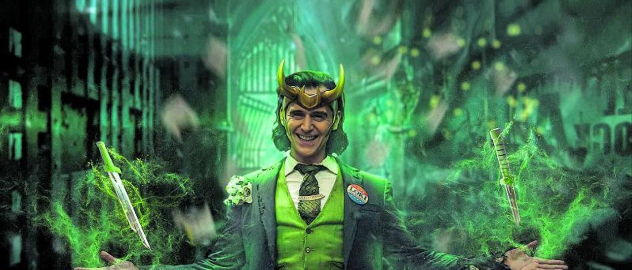 Tom Hiddleston encarna el papel de Loki