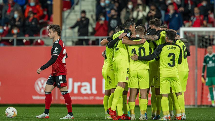 El Girona revifa amb un triomf a Anduva (1-2)