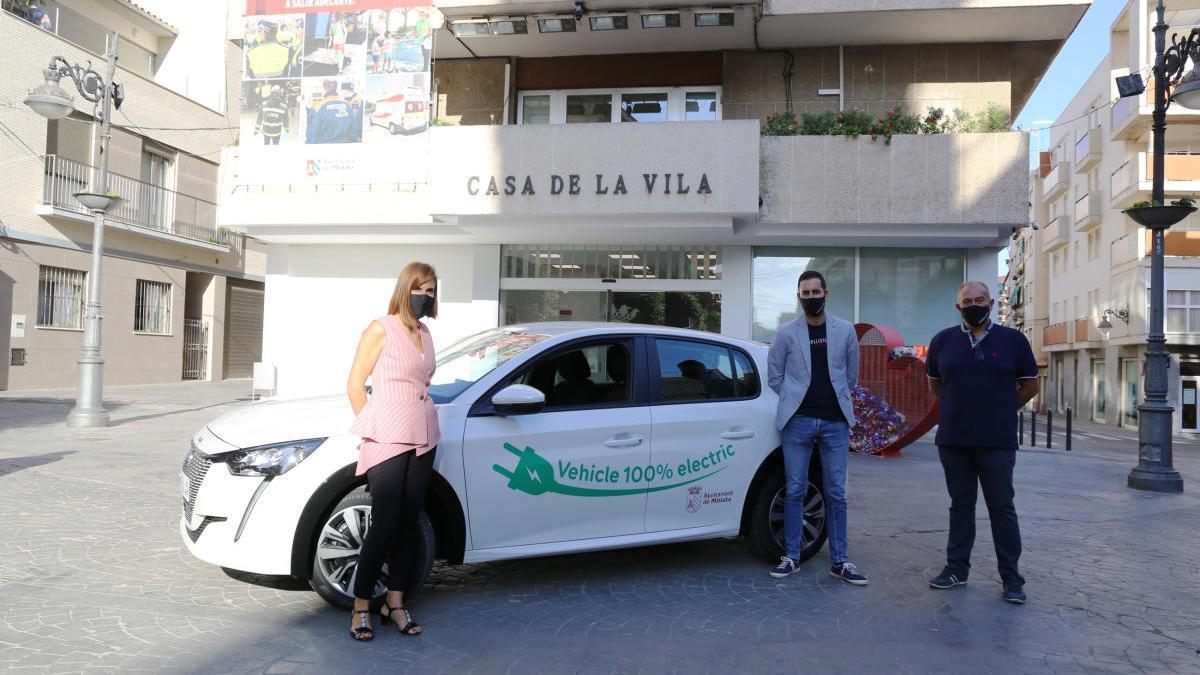 Mislata aumenta su flota de vehículos eléctricos