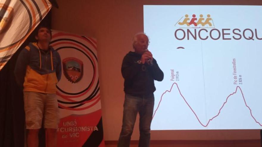 L'Oncolliga impulsa l'Oncoesquimo, una prova solidària d'esquí de muntanya