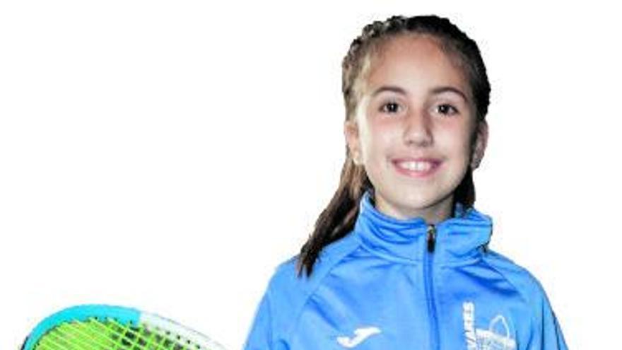 Martina: la tenista ovetense de 10 años que ya es top tres de España