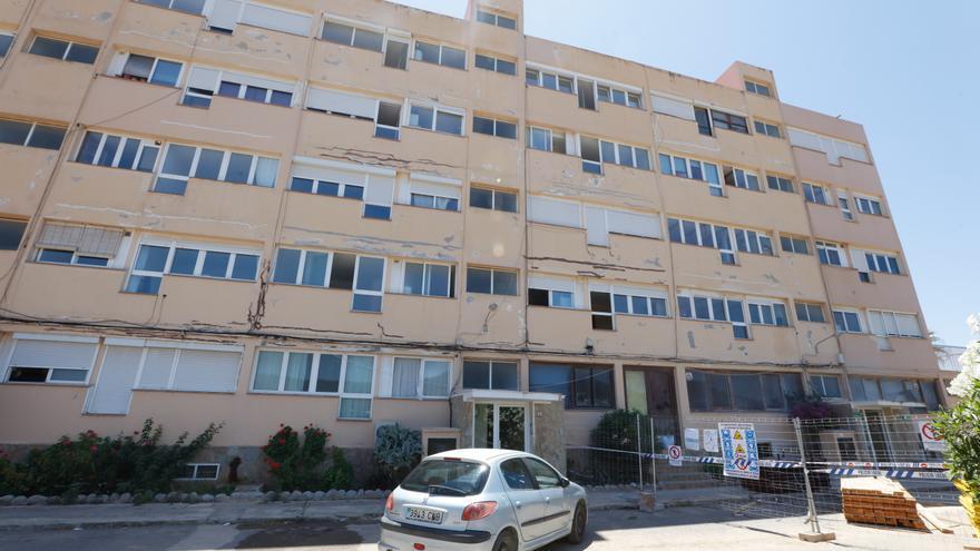 Sant Josep traslada al Catastro el estado de ruina de las viviendas Don Pepe