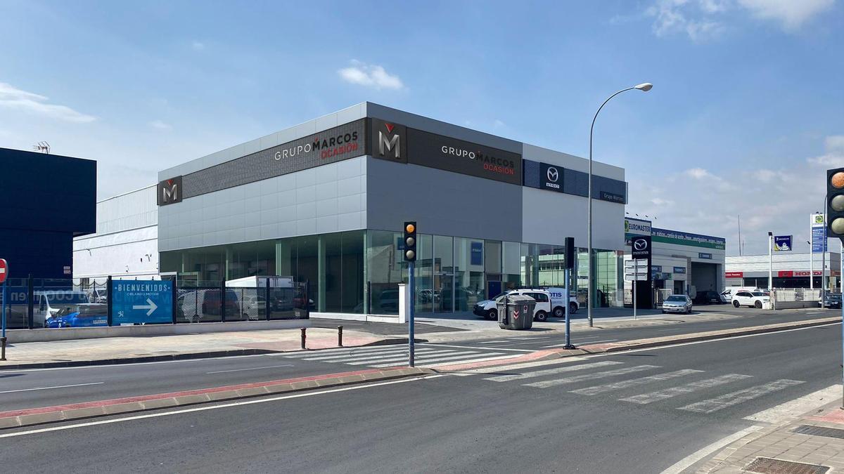 Grupo Marcos cuenta con 48 concesionarios en la provincia de Alicante y la Región de Murcia.