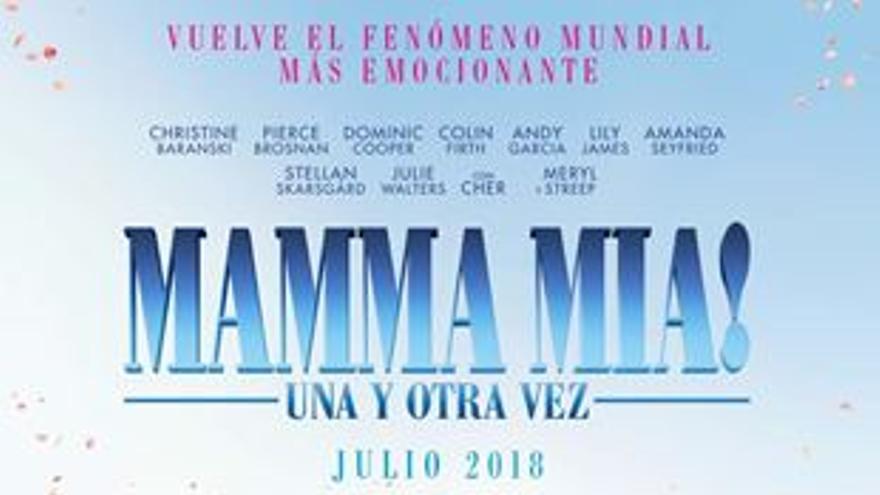 Cine de verano: Mamma mía. Una y otra vez