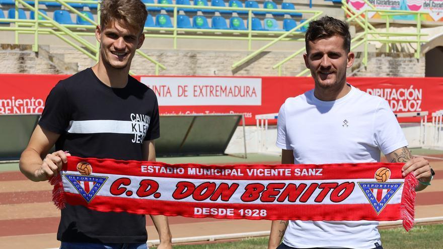 Abraham Pozo y Álex Jiménez quieren dar el máximo en el Don Benito