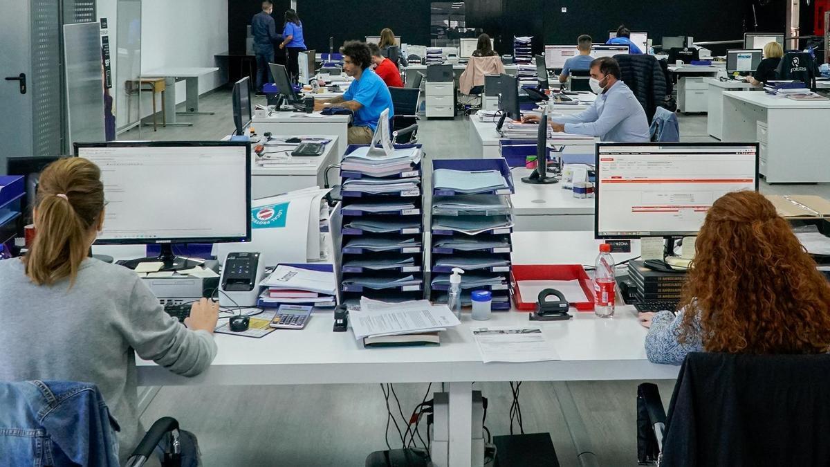 Oficina de una empresa de Castellón