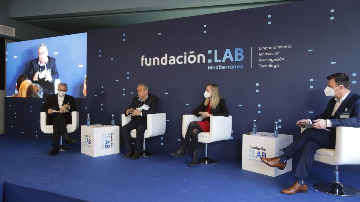 Un momento del acto de la Fundación Lab Mediterráneo.