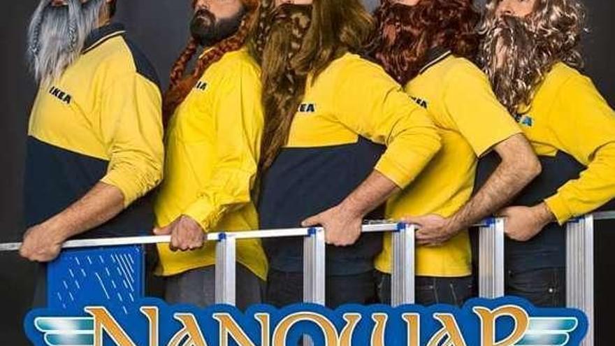 """""""Nanowar of Steel"""" estará en la Lata con su divertido """"Norwegian reggaeton"""""""