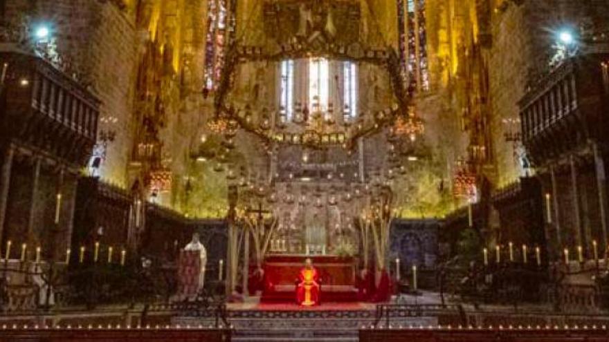 Mallorca startet mit Geistermesse in ungewöhnliche Osterwoche