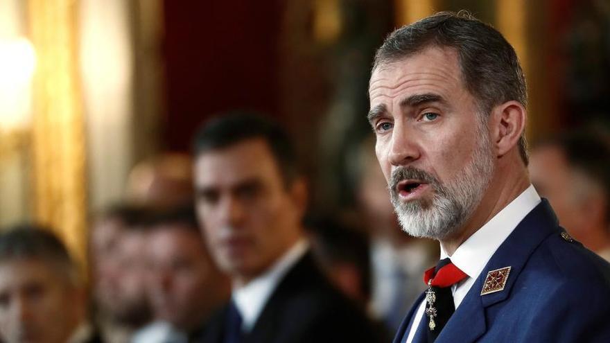 El Rey preside la Pascua Militar marcada por la polémica del chat de militares