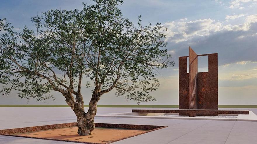 Oliva inicia el expresivo memorial a las víctimas del franquismo