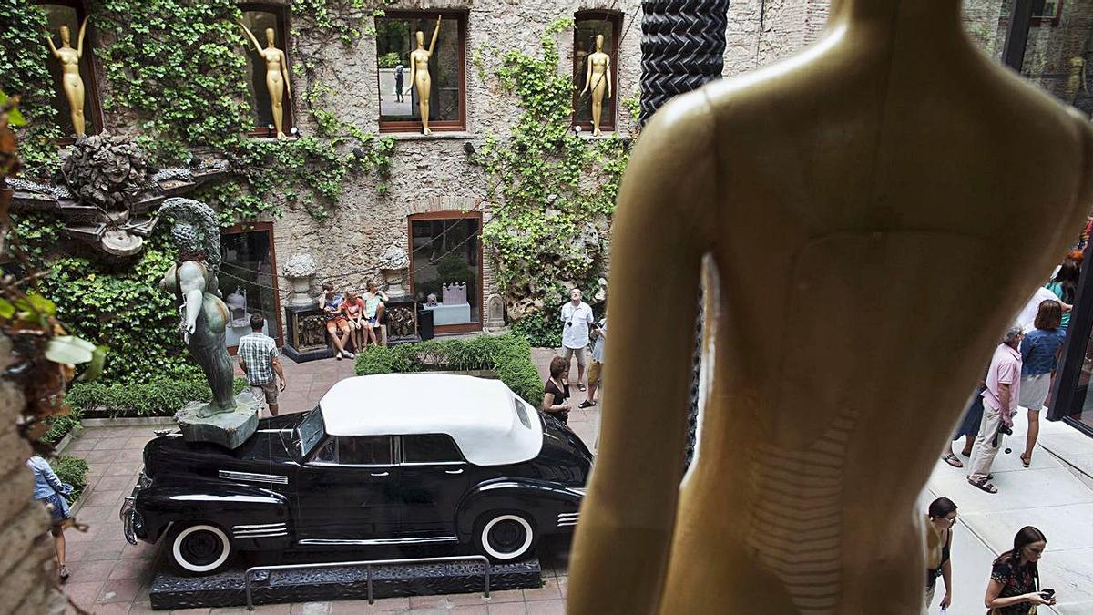El Pati del Cadillac, al Teatre Museu Dalí de Figueres.   ANIOL RESCLOSA