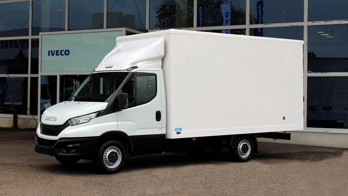 Iveco Daily Attack Box 2021, el vehículo perfecto para el sector de la paquetería