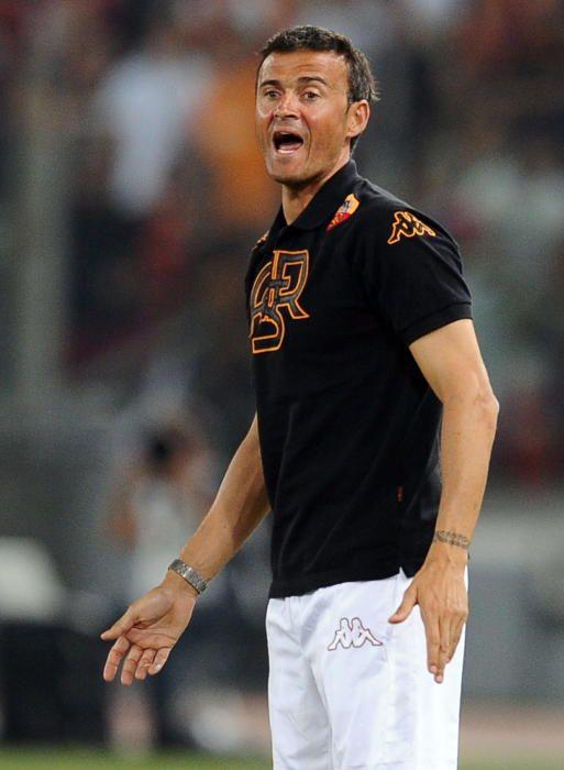 La trayectoria de Luis Enrique como entrenador