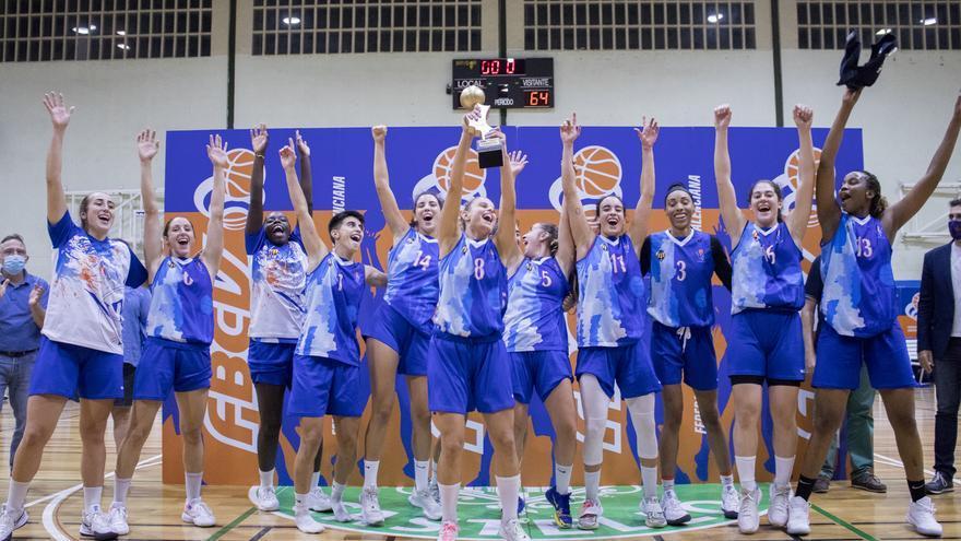 El Fustecma Nou Bàsquet, campeón de la Lliga Valenciana Femenina 2021