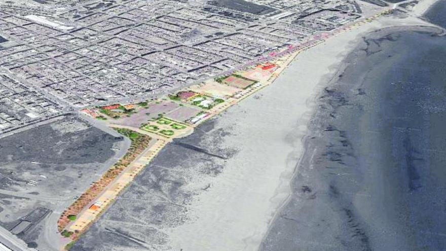 Sagunt planea una inversión de 4,5 millones entre la avenida de la playa y el paseo marítimo
