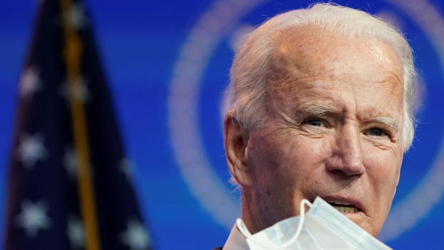 """Biden advierte de que """"morirá más gente"""" por Covid-19 si Trump bloquea la transición"""