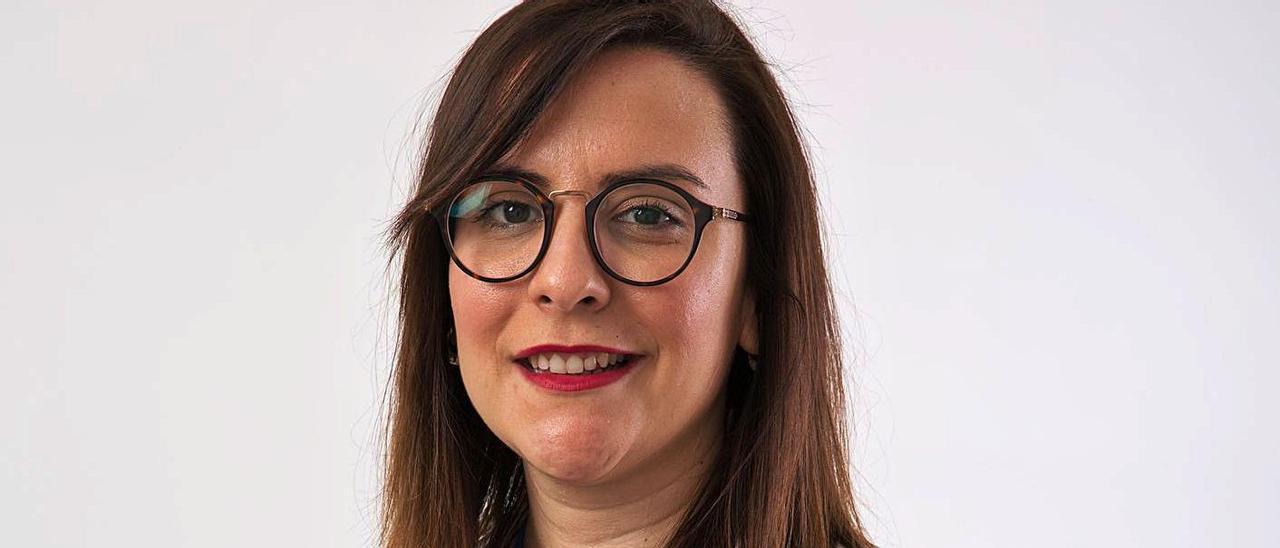 La coordinadora de Trabajo Social en el departamento del Vinalopó, Leticia Beltrán.  