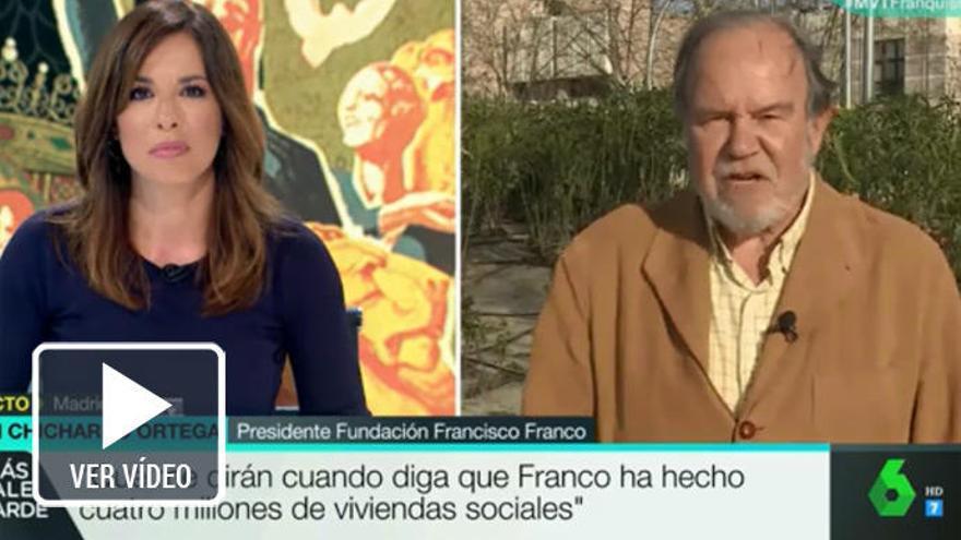 La incómoda pregunta de Mamen Mendizábal al presidente de la Fundación Francisco Franco