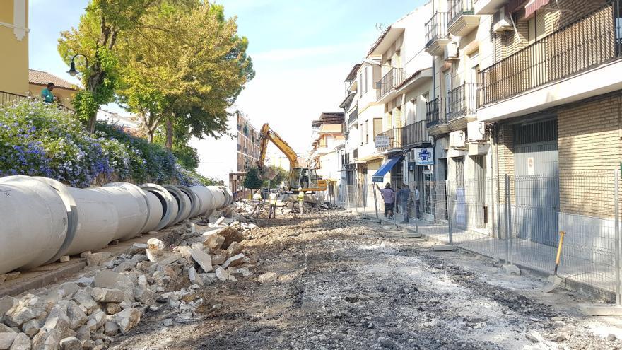El Ayuntamiento de Lucena adjudica por la vía de urgencia la reparación de los daños ocasionados por la tormenta