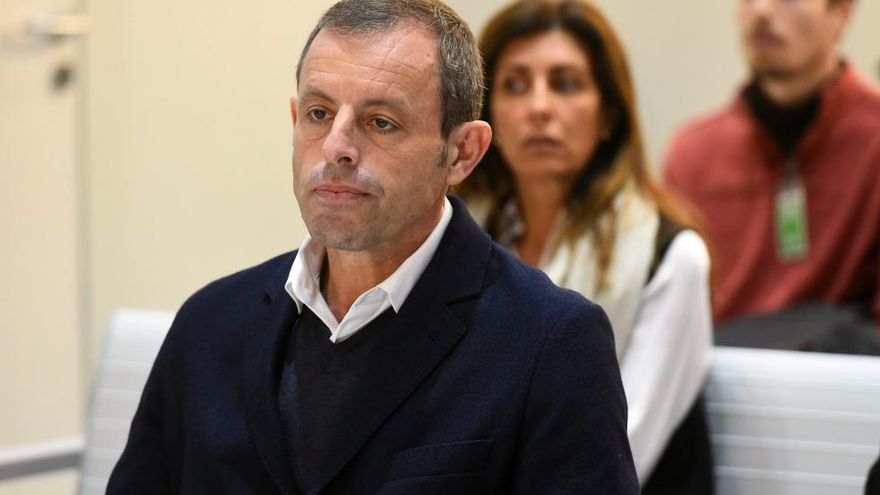 L'Audiència Nacional deixa en llibertat sense fiança Sandro Rosell
